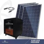 Planta de Generación y Respaldo de Energía Solar  3500W en  Agrofertas®
