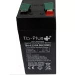 Bateria Seca SLA TB-PLUS 4 V 4.5 A vende  Tecnobaterías Ltda