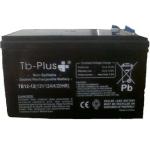 Batería Seca SLA TB-PLUS 12 V 12 A vende  Tecnobaterías Ltda