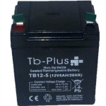 Batería Seca TB-PLUS 12V 5A en  Agrofertas®