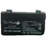 Batería Seca  TB-PLUS de 6V - 1.3 A en  Agrofertas®