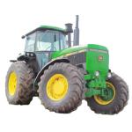Tractor John Deere 4650 de  Newman