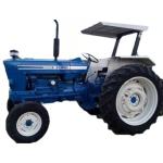 Tractor Ford  6600 + Grúa de  Newman