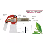 Mini Nebulizador KB-100 en  Agrofertas®