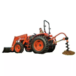 Tractor Kioti RX6630 de  Central SAS . Consulta más productos en Tractores agrícolas