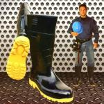 Botas de Caucho Con Puntera de Seguridad en  Agrofertas®