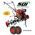Motocultor Diésel 10HP Arranque Manual en  Agrofertas®