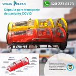Cápsulas para Transporte de Paciente Covid-19 vende  Veganos de mi Tierra S.A.S