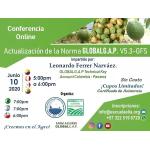 Desde Agrofertas entras en contacto con Escuela Latinoamericana de Innovación Agroalimentaria para  cotizar o comprar Conferencia Online   Actualización de la Norma GLOBALG.A.P. V5.3-GFS