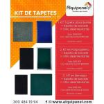 Kit de Limpieza - Tapete Absorbente y Tapete Secado vende  Alquipanel de Colombia