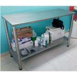 Mesa para Consultorio Acero Inoxidable en  Agrofertas®