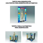 Desde Agrofertas entras en contacto con Inversiones Federico Madrid SAS para  cotizar o comprar Tapete - Pasillo Automatico para Desinfección