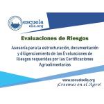 Evaluaciones de Riesgos | Certificaciones Agroalimentarias vende  Escuela Latinoamericana de Innovación Agroalimentaria