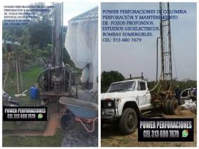 Perforación de Pozos vende  Perforación y Mantenimiento de Pozos Profundos Power Perforaciones