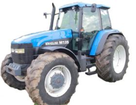 Tractor New Holland  M 135 en  Agrofertas®