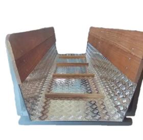 Báscula de Barras con Plataforma y Laterales en  Agrofertas®