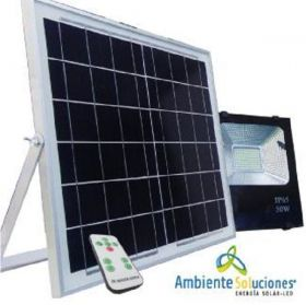 Reflector Led con Panel Solar 50 W en  Agrofertas®