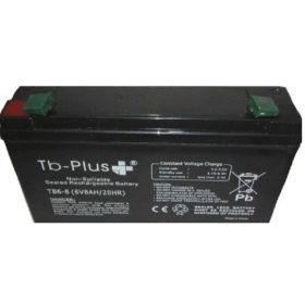 Batería Seca SLA TB-PLUS 6V 8A en  Agrofertas®