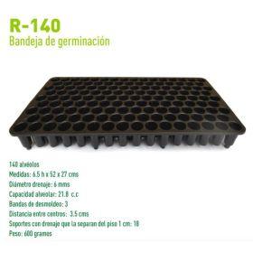 Bandeja de Germinación R-140 en  Agrofertas®