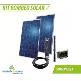Kit Bombeo Solar # 5 Sumergible en  Agrofertas®