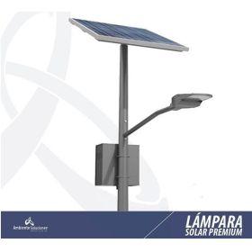 Lampara Solar Led con Poste Línea Premium 60W 9m 12 Horas en  Agrofertas®