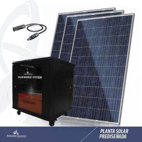 Planta de Generación y Respaldo de Energía Solar 4000W en  Agrofertas®