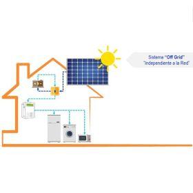 Panel Solar Sistema Off Grid en  Agrofertas®