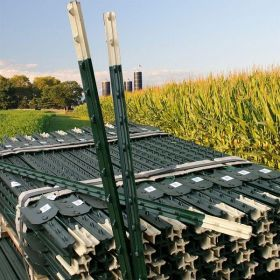 Kit Poste de Acero para Cercas en  Agrofertas®