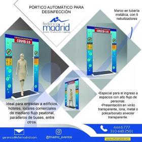 Pórtico Automático para Desinfección en  Agrofertas®