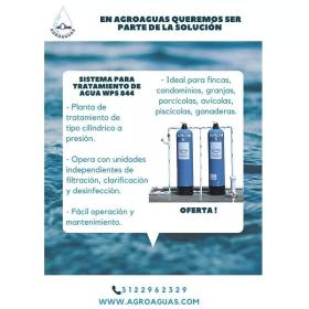 Sistema para Tratamiento de Agua en  Agrofertas®