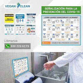 Señal Prevención Covid-19 en  Agrofertas®
