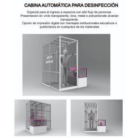 Cabina Automática para Desinfección en  Agrofertas®