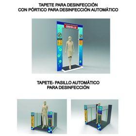 Tapete - Pasillo Automatico para Desinfección en  Agrofertas®
