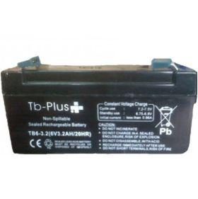 Batería Seca TB-PLUS de 6V - 3.2 A en  Agrofertas®