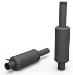 Silenciador BV900/600 en  Agrofertas®