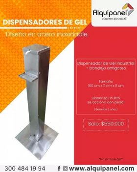 Dispensador de Anti-Bacterial en  Agrofertas®