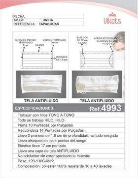 Tapabocas Ref 4993 en  Agrofertas®