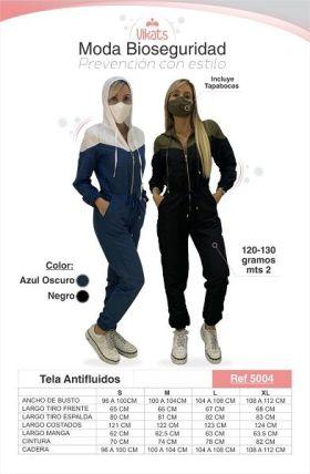 Trajes Antifluidos Enterizo Ref 5004 en  Agrofertas®