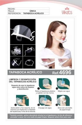 Tapabocas de Acrílico en  Agrofertas®